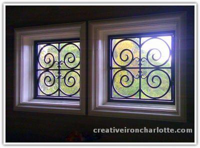 Decorative Wrought Iron Window Guards
